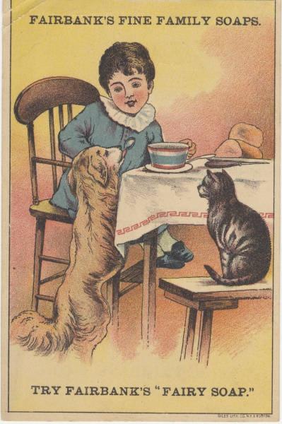 Vintage trade card (c. 1900)