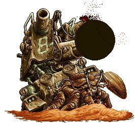 Metal Slug has one of the most amazing pixel-art ever!