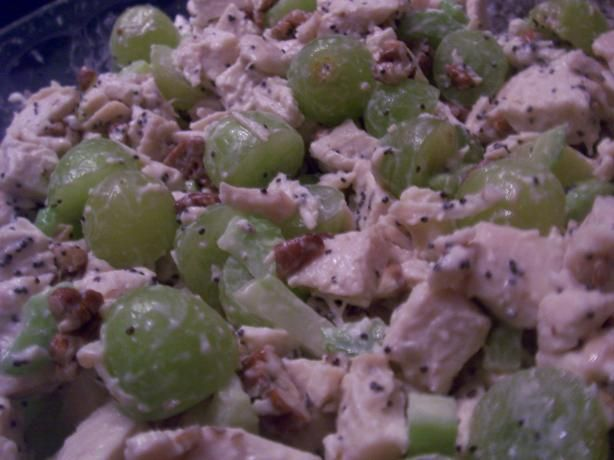 Sonoma Chicken Salad. Serve this up with sourdough bread.