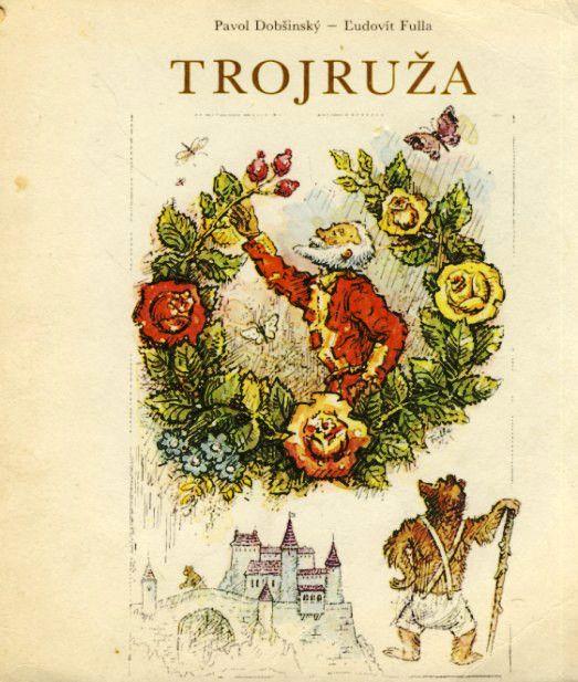 Trojruža, ilustrácie Ľudovít Fulla