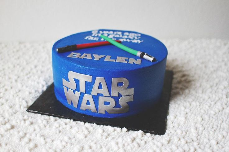 Star wars light saber, Star wars light and Star wars cake on Pinterest