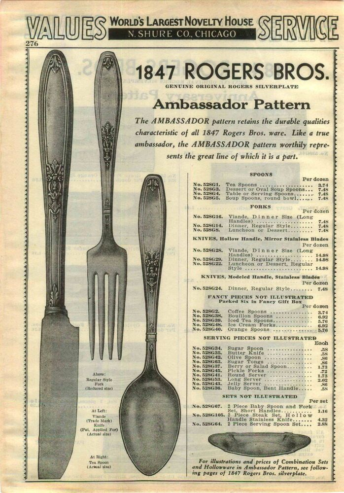87 Best 1847 Rogers Bros Silverplate Patterns Images On