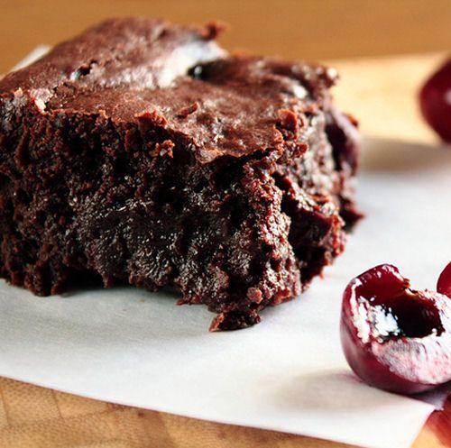 Roasted Cherry Dark Chocolate Brownies | Cookies/Brownies/Bars | Pint ...