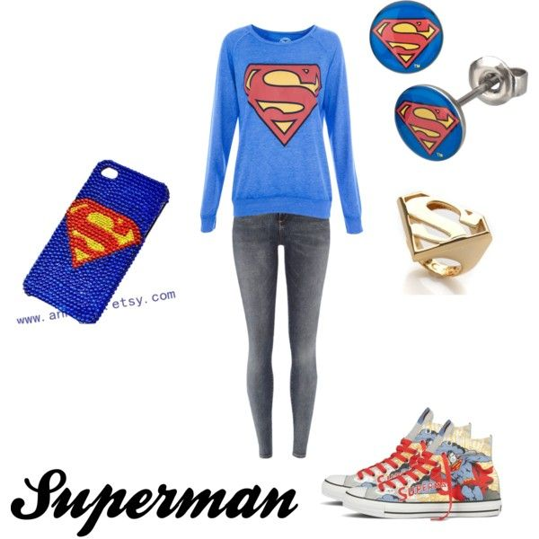Cute superman outfit made this