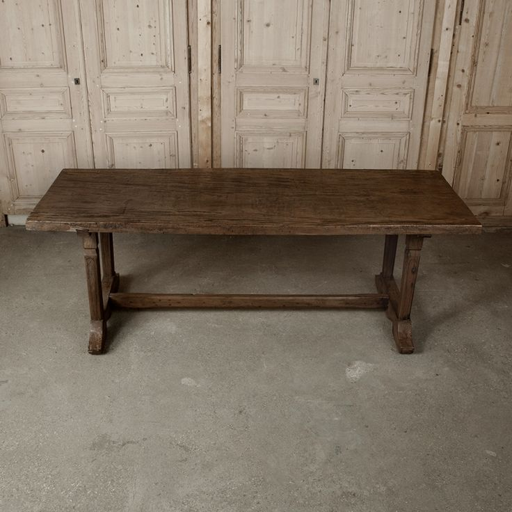 Rustic European Country Farm Table (With images) | Antique ...