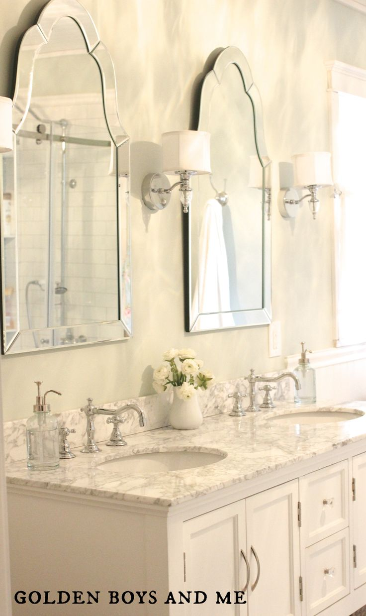 25+ Best Ideas About Bathroom Vanity Mirrors On Pinterest