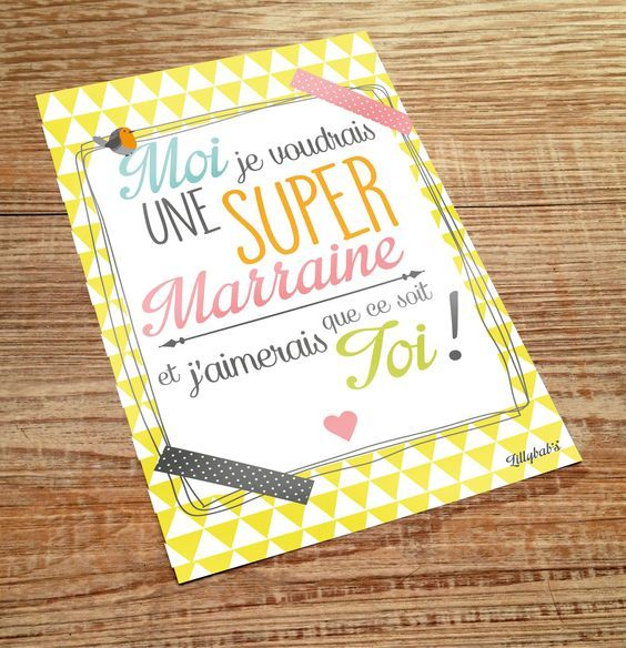 carte postale super marraine : Cartes par lillybabs: