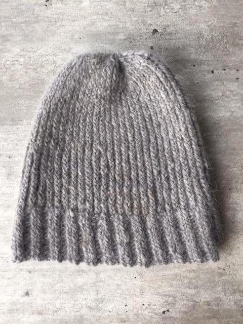 Winter Hat Wool Hat Goathair Hat Slouchy Beanie by woolpleasure