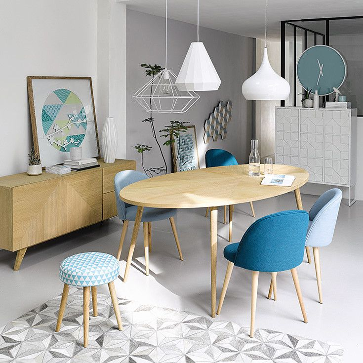 25 best ideas about scandinavian dining chairs on - Meuble du bout du monde ...
