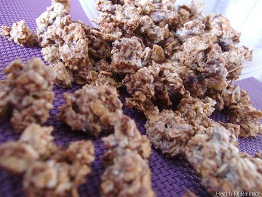 Protein Granola (no sugar, no oil)