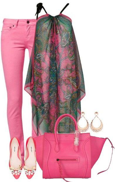 Celine Luggage Phantom Handbag Rose