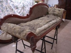 Reupholstered Chaise Longue : how to reupholster a chaise - Sectionals, Sofas & Couches