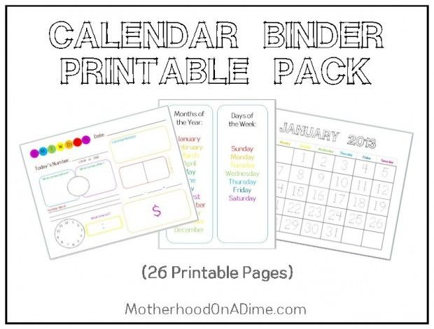 Kindergarten Calendar Notebook : Best images about preschool printables on pinterest