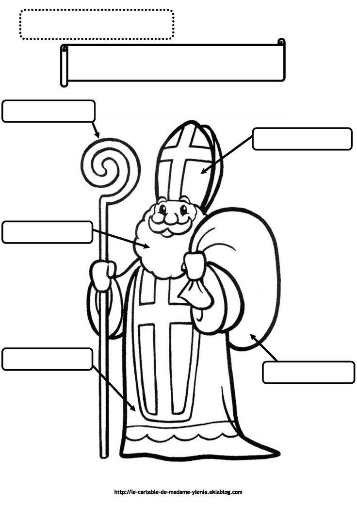 Sinterklaas werkblad
