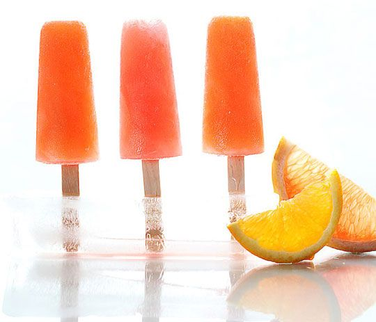 33 glaces super cool à préparer vous-même pour rafraîchir votre été  Bâtonnets au campari