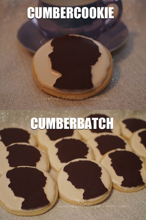 Benedict fangirls: singly we are each Cumbercookies, together we are a Cumberbatch :)