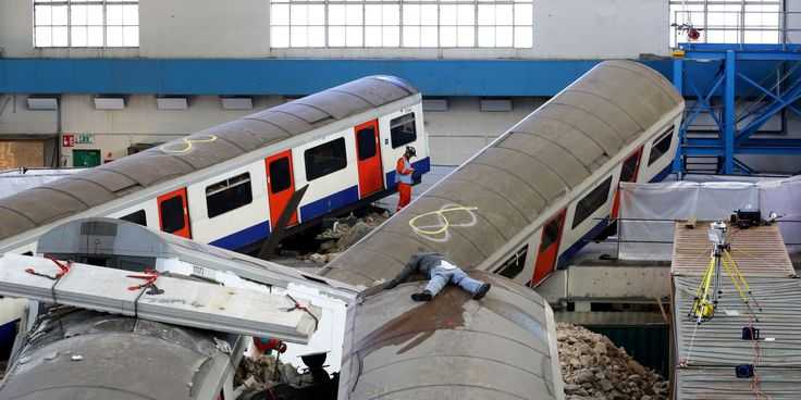London Tube Station Carnage After Tower Block Collapse Simulated For Major 'Unified Response' Training Drill