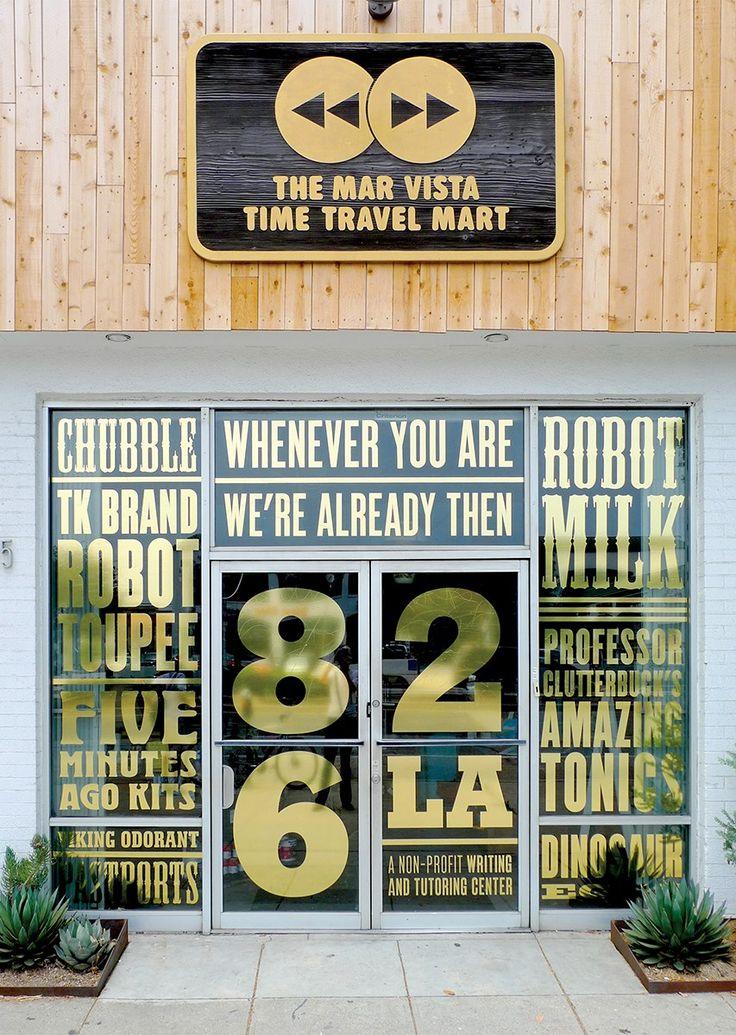 Eight 826LA entrance signage