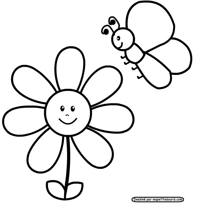 flower for coloring pages