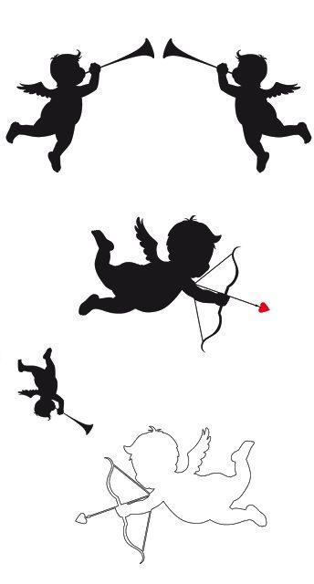Angels. (Cupids Cupids-)