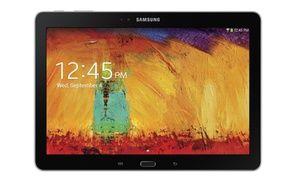 "Groupon - Samsung Galaxy Note 10.1"" Wi-Fi 16GB/32GB Black Refurbished. Groupon deal price: $239.99"