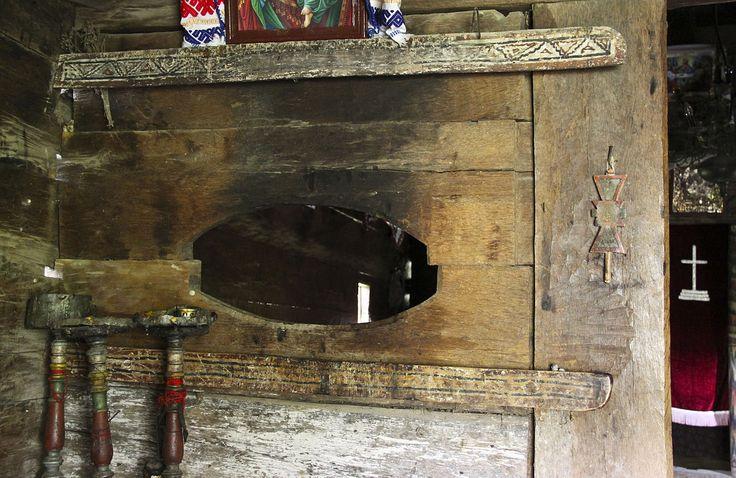 Olteanca Chituci VL.bis lemn.tinda gol - Biserica de lemn din Olteanca-Chituci - Wikipedia