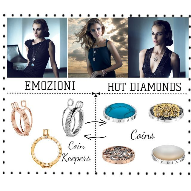 In Love with Emozioni coin keeper pendants