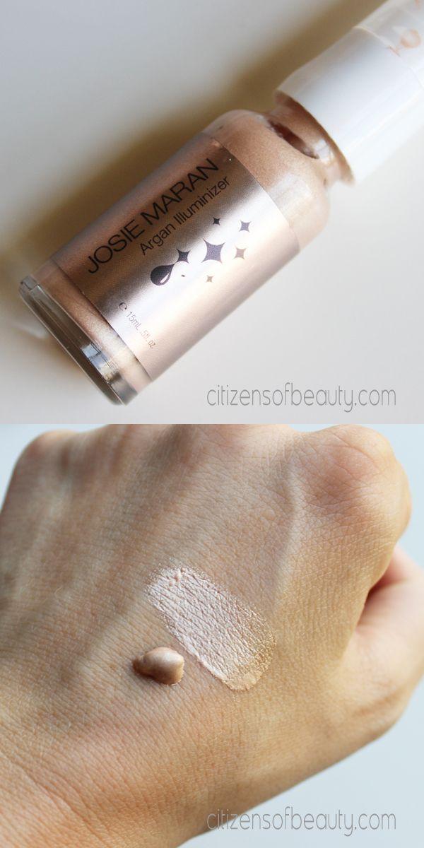 Josie Maran Cosmetics and Beauty Products Review #glowingskin #illuminate #josiemaran via @Claudia Park Magers of beauty