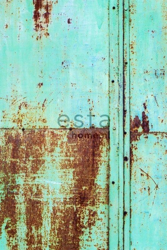 Esta Home Vintage Rules! PhotowallXL Metalen platen 158207