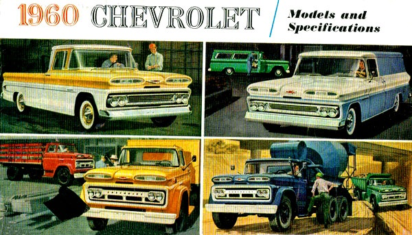 1960 Chevy truck models.