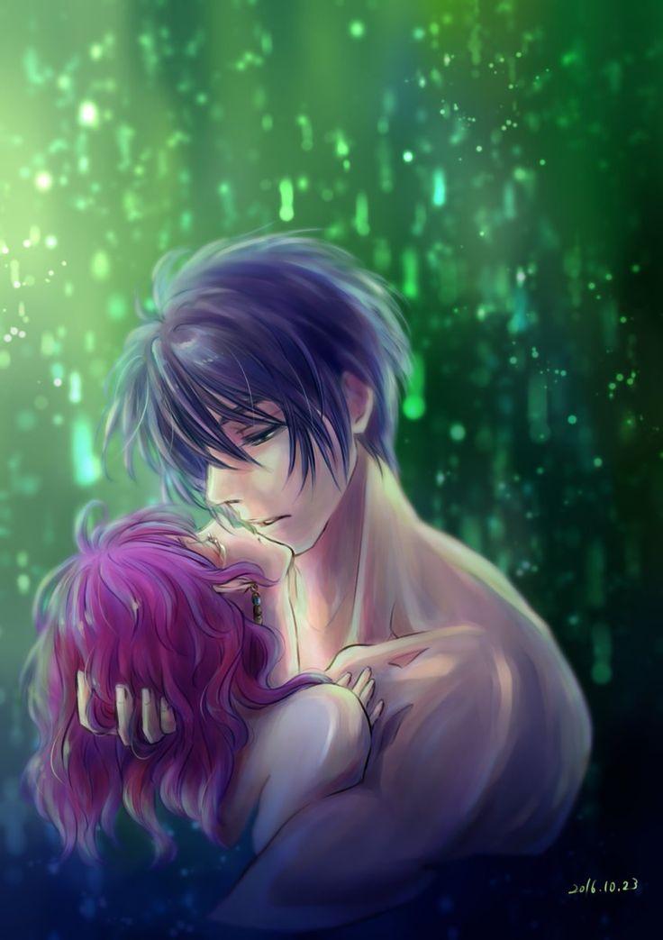 Akatsuki no yona fanart by k ponbon on twitter hak and - Fanart anime wallpaper ...
