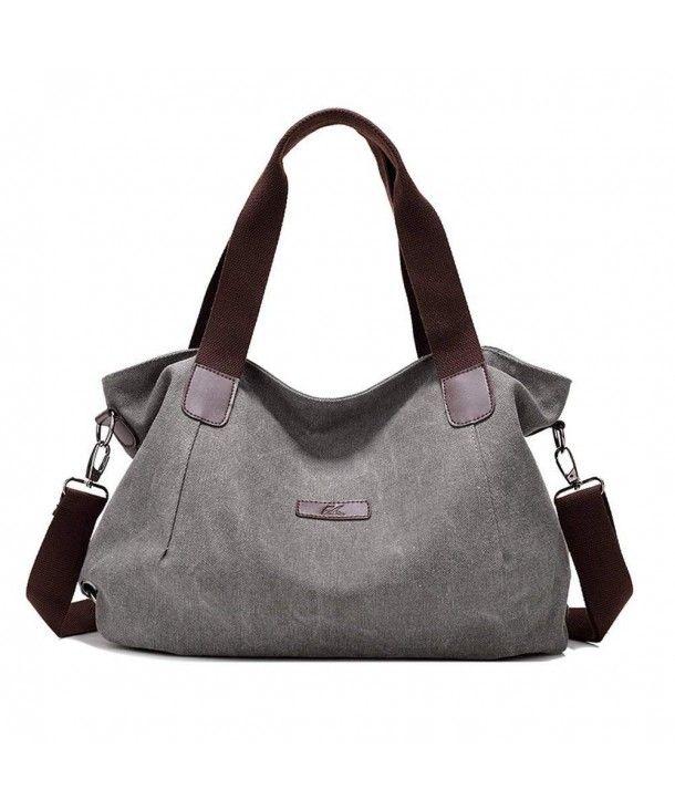 d23d68d569 Women s Ladies Casual Hobo Shoulder Bags Canvas Fashion Daily Purse ...