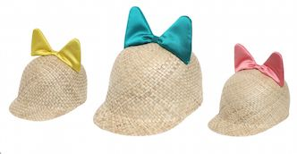 Minu – cappello in paglia intrecciata e seta