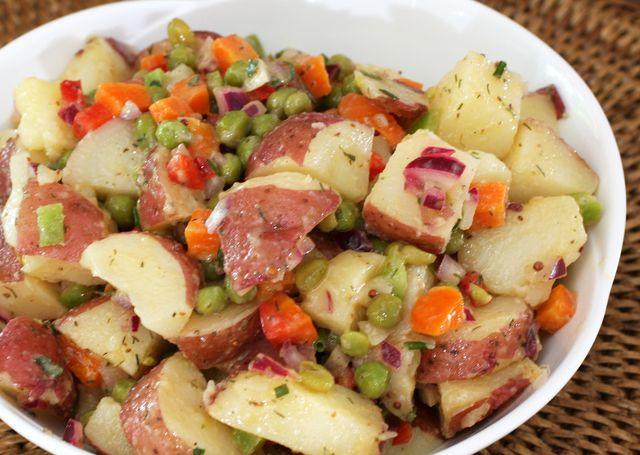 A Flavorful and Light Potato Salad: Light Potato Salad