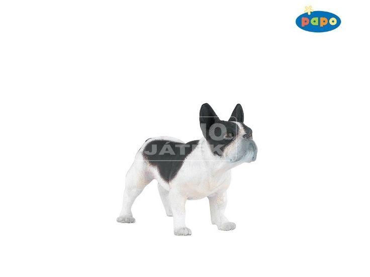 REGIO Játék | Papo fekete-fehér francia bulldog 54006