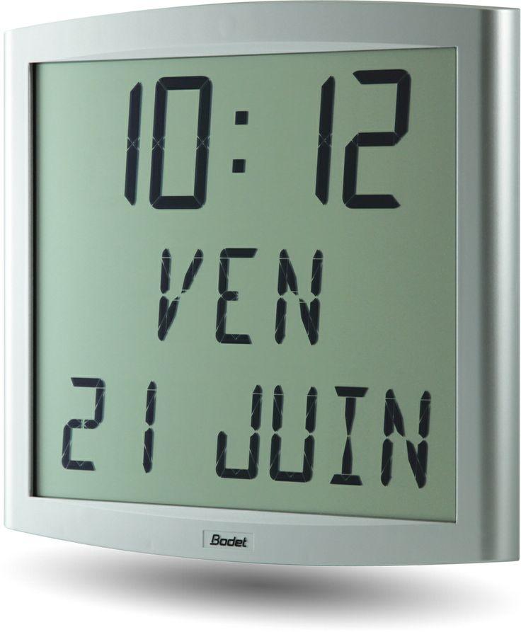 Horloge LCD modèle Cristalys Date. http://www.bodet-time.com ...