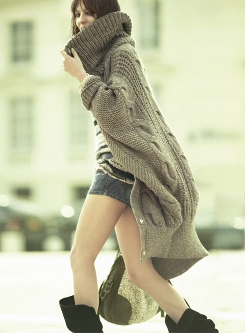 Chunky knit   # Pin++ for Pinterest #