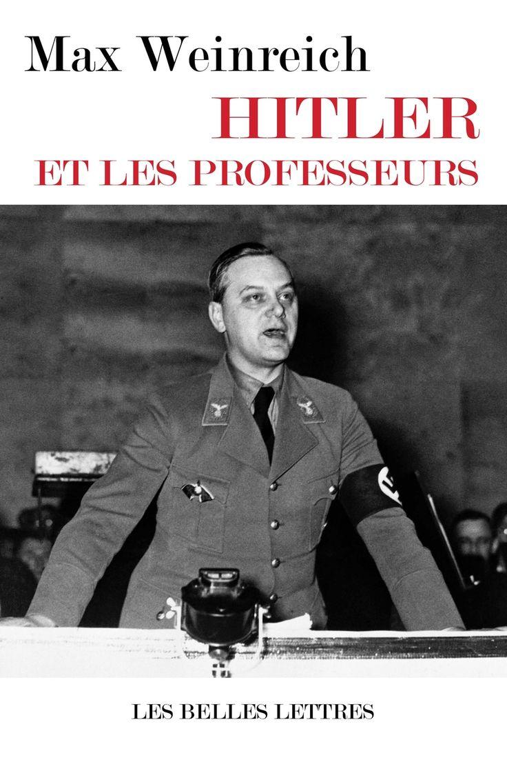 Hitler et les professeurs (Max Weinreich)