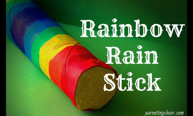 Rainbow Rain Stick