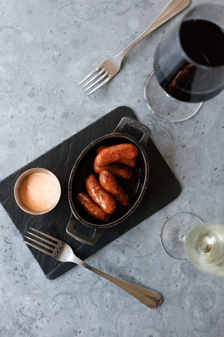 Start with our mini merguez sausages with a chilli-lime aïoli *sharing optional*