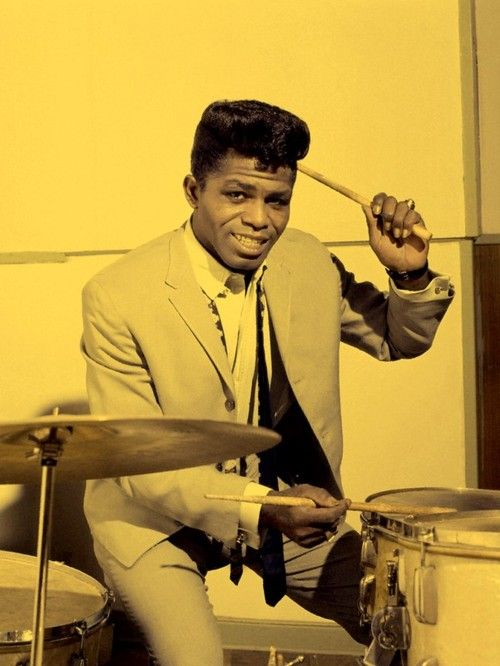 James Brown......now that's a Funky Drummer!