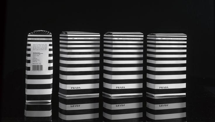 Cibi quotidiani….una confezione alla moda! http://buff.ly/1iDSkJF #luxury #lusso  #prada