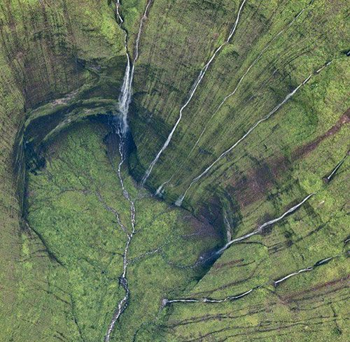 Weeping Wall of Mt. Waialeale on Kauai