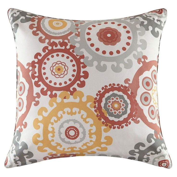 Marina Printed Medallion 3M Scotchgard Outdoor Pillow
