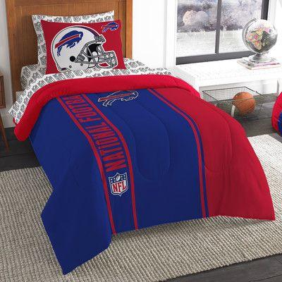 Northwest Co. NFL Bills Comforter Set Size: Twin