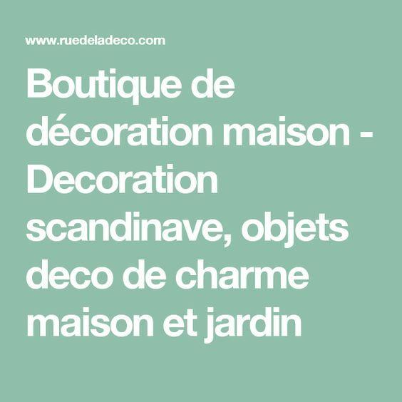 Boutique de décoration maison - Decoration scandinave, objets deco ...