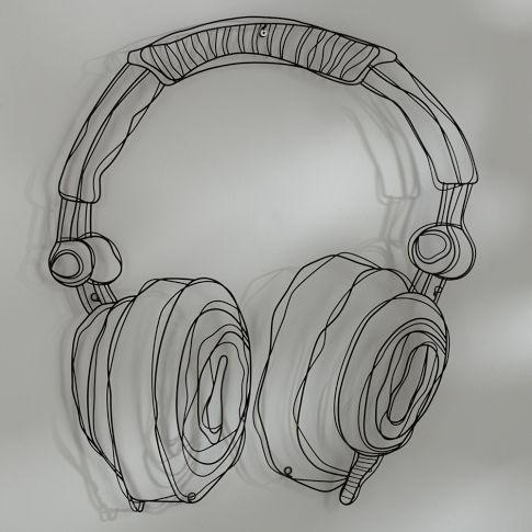 got them pottery barn teen - Wire Music Decor | PBteen