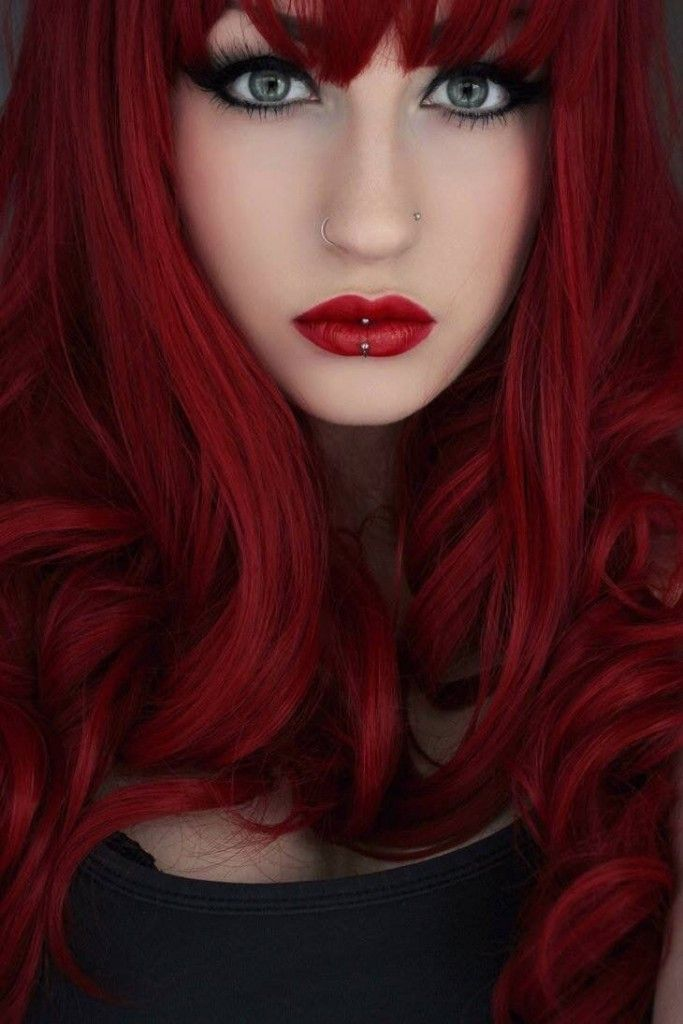 Gorgeous Red Hair Color