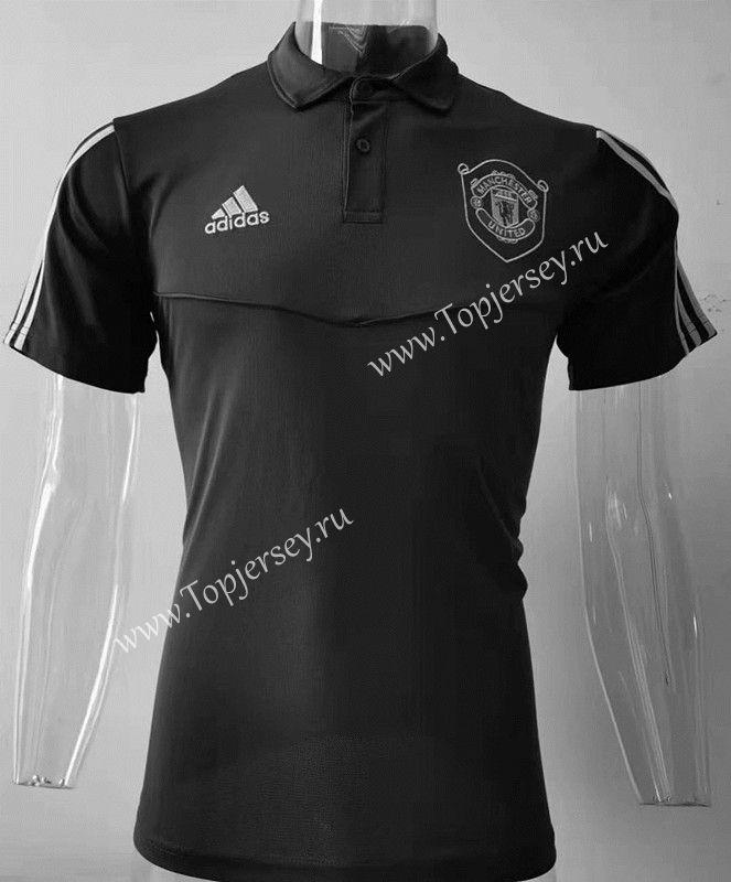 2019 2020 Manchester United Black Polo Shirt Sj Black Polo Shirt Polo Shirt Shirts