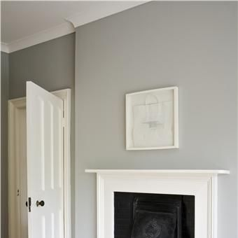Our dinning rooms new colour: Lamp Room Gray and Wimborne White